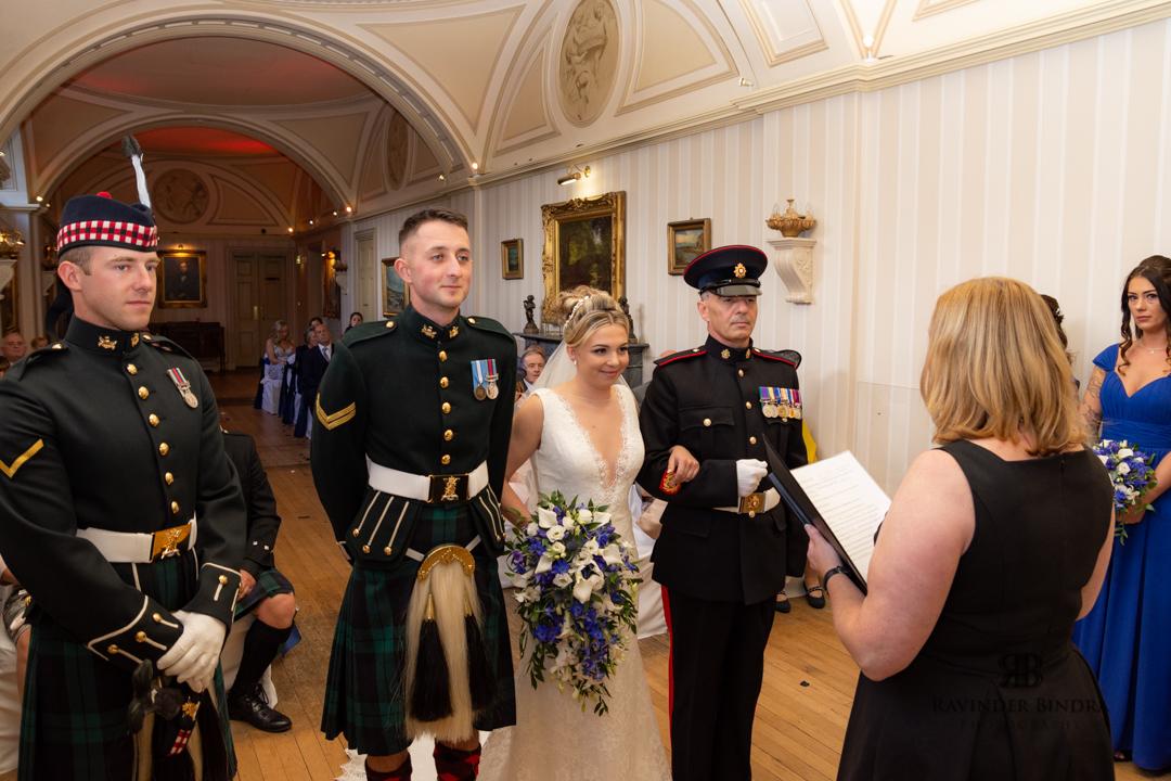 Balbirnie House Hotel wedding photographer