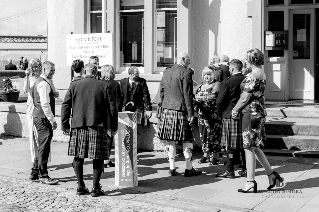 photo of south queensferry registrar wedding venue