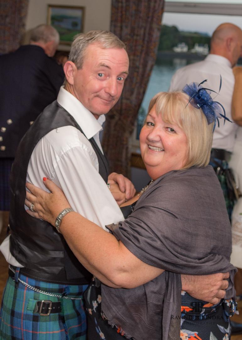 couple dancing at fife wedding